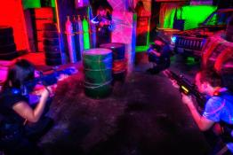 Zabrze Atrakcja Paintball laserowy Laserball
