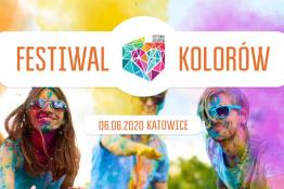 Chorzów Wydarzenie Festiwal Festiwal Kolorów w Katowicach 2020